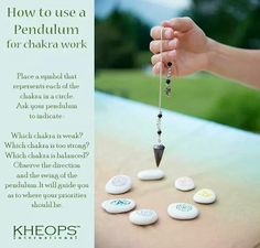 Using Pendulums For Chakra Work