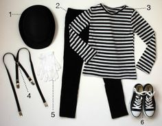 mime costumes for boys Mime Halloween Costume, Circus Costume, Halloween 2014, Halloween Costumes For Kids, Halloween Party, Halloween Ideias, Fantasias Halloween, Cute Costumes, Circus Theme