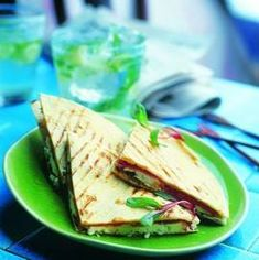 Quesadillas Met Parmaham En Geitenkaas recept | Smulweb.nl