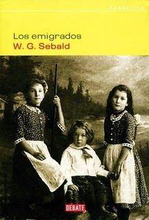 """W.G.Sebald """"Los emigrados"""""""