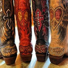 Corral Boots. Available at RiverTrail in North Carolina. #cowboyboots
