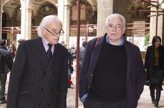 mio papà Glauco con Peter Eisenman