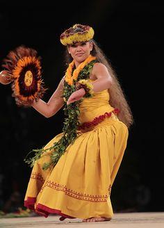 Hokulani Kaiola McKeague (Halau Hula O Kahikilaulani; kumu Nahokuokalani Gaspang from Hilo, Hawaii).