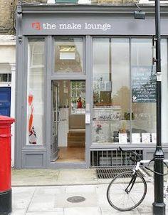 The Make Lounge. Islington, London.