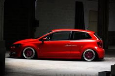 VW Polo Red