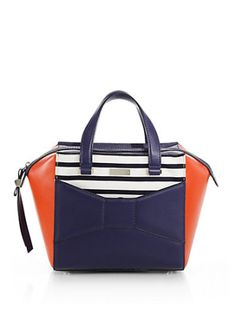 Kate Spade New York - Park Ave Colorblock Satchel, Where would you tote this? http://keep.com/kate-spade-new-york-park-ave-colorblock-satchel-by-dimak89/k/0Hh7RAgBIY/