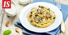 Koostimme maukkaita ohjeita, joihin tatteja voi käyttää. Mushroom Recipes, Veggie Recipes, Pasta Recipes, Vegetarian Recipes, Cooking Recipes, Healthy Recipes, Clean Eating, Healthy Eating, Light Recipes