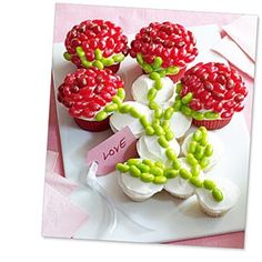 Decorating with Jelly Belly Beans. Love You Cupcake - Bean World - Jelly Belly® UK