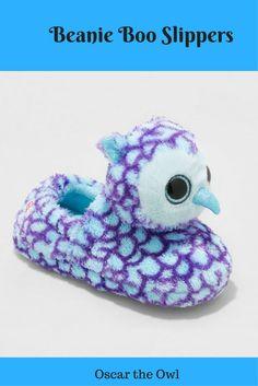 Beanie Boo Oscar the Owl Slippers ad Christmas Gift Inspiration 67817a69130b