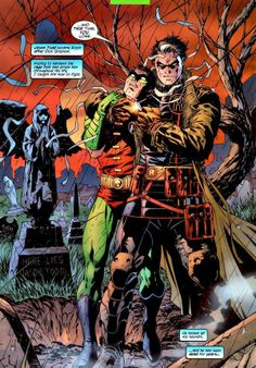 Jason Todd and Tim Drake - Hush