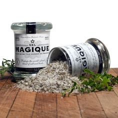 Sel Magique small jar | $13. Harvested by hand in Gurande, France, this fleur de sel is produced in small, seasonal batches. Available at: manykitchens.com