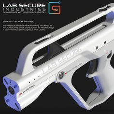 LabSecure Weapon Design Tutorial, Edon Guraziu on ArtStation at… Sci Fi Weapons, Concept Weapons, Weapons Guns, Future Weapons, Robot Design, Hd 1080p, Design Tutorials, Film, Firearms
