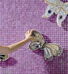 #SICIS #Mosaic #Tile #Interiors #Art