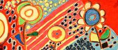 DMA art workshop. Oil pastels.