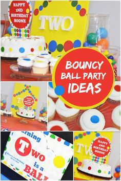 boy's bouncy ball party ideas www.spaceshipsandlaserbeams.com
