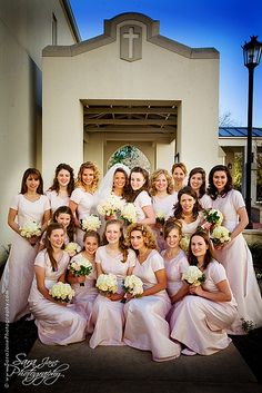 . Cody Love, Love Lucy, Large Bridal Parties, Bridesmaid Dresses, Wedding Dresses, Party, Fashion, Bridesmade Dresses, Bride Dresses