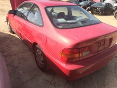 1997 #Honda #Civic for parts only!  Searching for used car parts, Look no more, We carry EVERYTHING! www.asapcarparts.com    #asapcarparts #carparts #autoparts #charlottenc