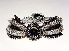 Gothic Butterfly Bracelet - design by Mikki Ferrugiaro