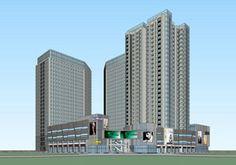 现代办公楼 现代公寓 现代商业