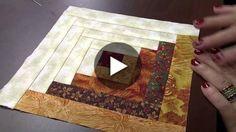Aprenda fazer lindos blocos de patchwork