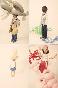 Kiko Kids. Beautiful clothes. And the gigantic balloon animals are too cool for school.