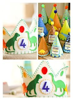 Rawr Dinosaur Birthday Party – Birthday Party Ideas for Kids and Adults Rawr Dinosaur Birthday Party party hats Dinosaur Birthday Party, 4th Birthday Parties, Third Birthday, Boy Birthday, Birthday Games, Birthday Ideas, Birthday Wishes, Party Mottos, Party Party