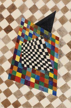 Vassily Kandinsky - Kariertes [1925] | Flickr - Photo Sharing!