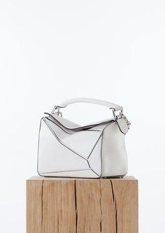Product detail Loewe White small Puzzle Bag Département Féminin