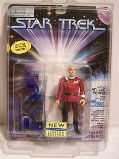 Star Trek Captain Jean Luc Picard Tapestry Action Figure by Playmates STNG @ niftywarehouse.com #NiftyWarehouse #StarTrek #Trekkie #Geek #Nerd #Products