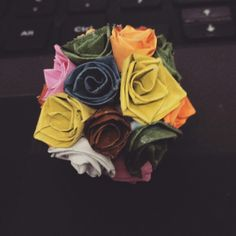 Rose ball quilling