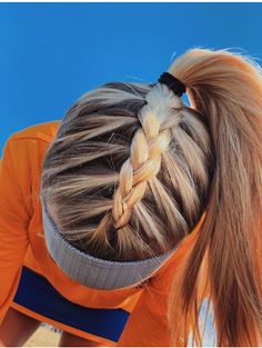 tutorial videos diy lovely hairstyle hairdo braid gorgeous stunning perfect hair… - Makeup İdeas For Wedding Athletic Hairstyles, Softball Hairstyles, Running Hairstyles, Workout Hairstyles, Cute Braided Hairstyles, Cute Simple Hairstyles, Cute Sporty Hairstyles, Cute School Hairstyles, Hairdos