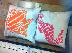 Pillows - found at HomeGoods