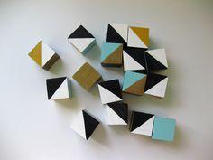 Painted Geo Blocks