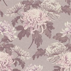 Calming natural vintage florals in pink tones creating depth and character |  Lilac Vintage Blossoms R3030 #wallpaper #pantone #rosequartz