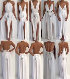 Sexy 5 Styles White Prom Dresses Party Gowns for women Evening Party Gowns from . - Sexy 5 Styles White Prom Dresses Party Gowns for women Evening Party Gowns from loverlovebridal Source by didijodh - Sexy Party Dress, Prom Party Dresses, Sexy Dresses, Fashion Dresses, Bridesmaid Dresses, Formal Dresses, Infinity Dress Bridesmaid, Backless Maxi Dresses, Graduation Dresses