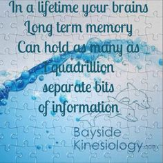 I'm sure most of peoples long term memory is held in the subconscious and this is where we run into trouble most often.  :0