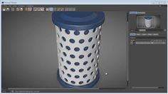 Cinema 4D - Punching holes into a cylinder