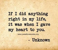 We've all experienced a moment when you just can't find the right words to say 'I love you' and describe the depth of your feelings, so here are 60 cute and sweet love quotes for him that are sure to make his heart melt. Love Quotes For Her, Love Quotes For Him Boyfriend, Sweet Love Quotes, Girlfriend Quotes, Love Yourself Quotes, Love Is Sweet, Love For Her, I Will Always Love You Quotes, Love You Forever Quotes