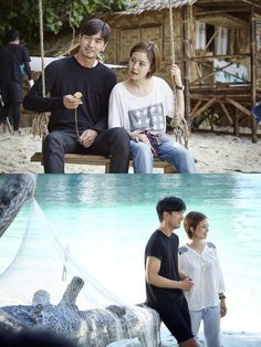 Lee Jin Wook and Moon Chae Won