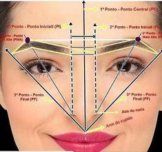 Eyebrow Makeup Tips, Permanent Makeup Eyebrows, Contour Makeup, Flawless Makeup, Makeup Geek, Beauty Makeup, Gorgeous Makeup, Maquillage Yeux Cut Crease, Mircoblading Eyebrows