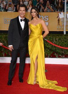 Mathew McConaughey y Camila Alves, SAG Awards 2014