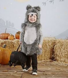 Caron Caron Kissel This wolf costume is too cute! Wolf and Little Red Riding Hood?