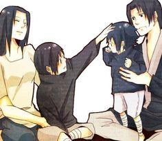 Itachi & Sasuke Uchiha #naruto