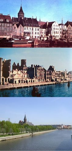 KALININGRAD 1945-.... Once a beautiful, ancient and thriving East Prussian providence of Germany, now the Russian built city of Kaliningrad. Sad.