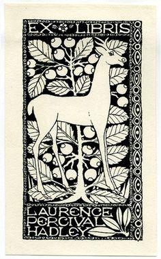 Resultado de imagen de ex libris ciervo