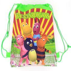 1 pic garden xiaobing University school bags kids cartoon backpack drawstring bag & infantile For children bag back to school