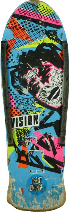 Legendary Gonz deck. Design by Keith Haring