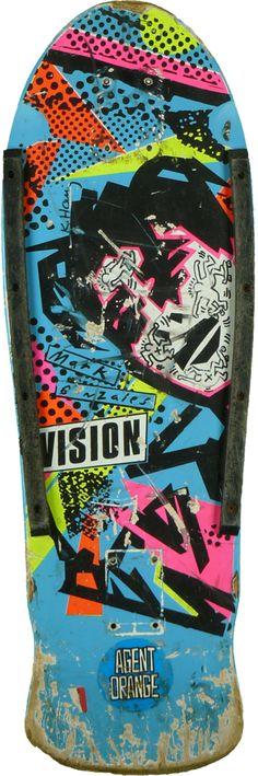 Legendary Gonz deck. Design by  Keith Haring #skateboarding #skateordie