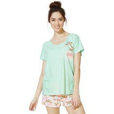 556ae43593 Disney Winnie the Pooh Tigger Shorts Pyjamas ( 3.89) ❤ liked on Polyvore  featuring intimates
