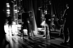 I love this shot. Behind the scenes at the New York City Ballet.